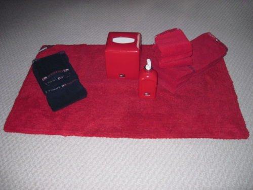 tommy hilfiger bathroom set towels