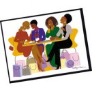 Girlfriends Note Cards - 10 Pack