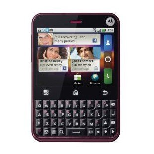 Motorola CHARM with MOTOBLUR (T-Mobile) (Unlocked) (Cabernet)