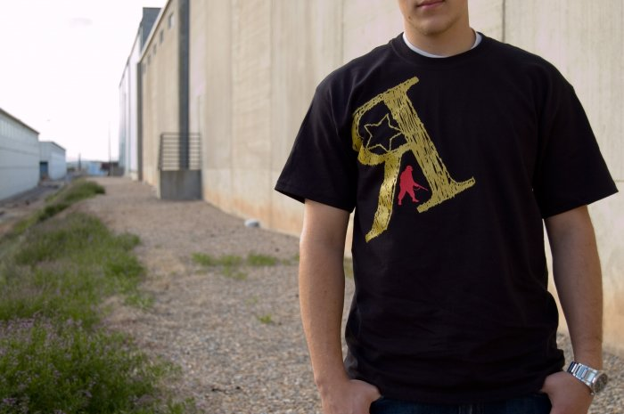 Army Man Tee Large (Black)