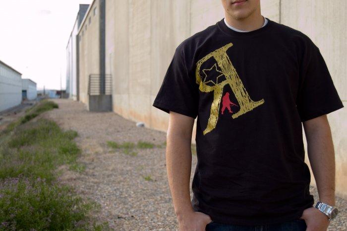 Army Man Tee X Large (Black)
