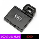 LCD Hood Pop-Up Shade Cover Protector for CANON 500D Rebel T1i