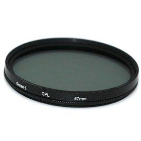 67mm Circular Polarizing C-PL PL-CIR CPL Lens Filter