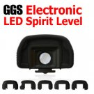 GGS Electronic LED Spirit Level with 1.25x Viewfinder Magnifier