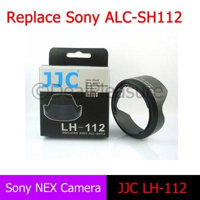 JJC Flower Petal Lens Hood Replace Sony ALC-SH112 for Sony NEX-5C NEX-3C