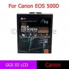 GGS III 3rd Generation DSLR LCD Screen Protector for Canon 500D 450D T1i XSi