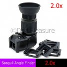 Seagull 1-2.0X Right Angle Finder Viewfinder for Digital SLR Camera Canon Nikon Pentax