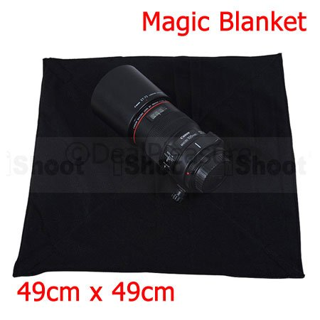 19inch Protective Wrap Magic Cloth Blanket for Camera Body & Lens 49cm x 49cm