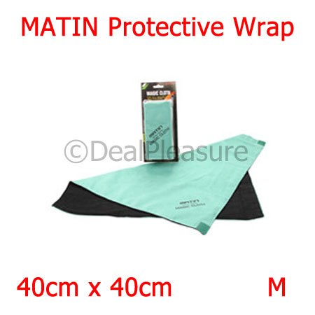 Matin M-6324 Magic Cloth Protective Wrap for Camera & Lens 40cm x 40cm