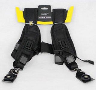 K Double Shoulder Strap Quick Sling for D-SLR Camera Canon Nikon Sony etc.