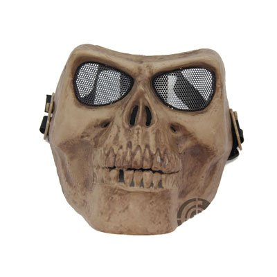 Death Skull Bone Full Face Mask Protective -Skeleton- Military Airsoft Game