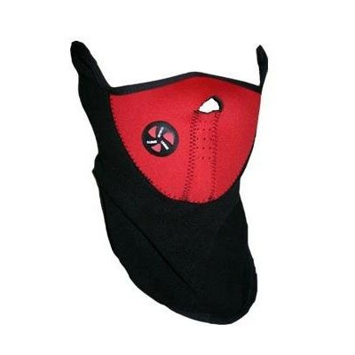 (Red) Bike Face Mask Neck Warm fr Ski Snowboard Motorcycle