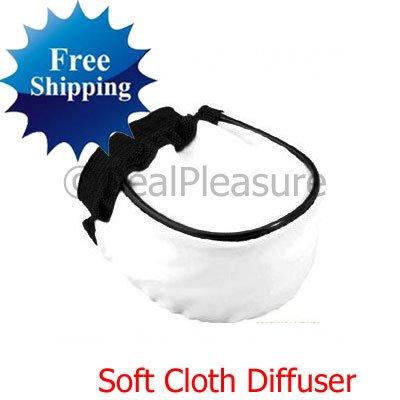 Universal Soft Cloth Flash Bounce Diffuser for DSLR Camera Canon Nikon Sony