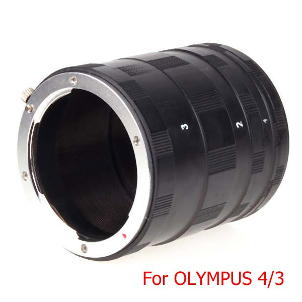 Macro Extension Tube Ring Set for OLYMPUS 4/3 E410 E510 E520 E620