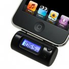 FM Transmitter With Car Charger Remote for iPhone 4 3GS 3G 2G iPod Touch