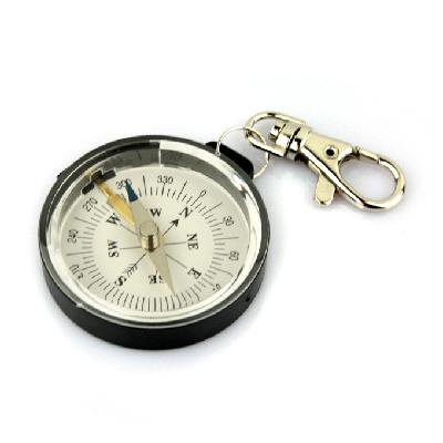Portable Outdoor Camping Keychain Survival Mini Compass