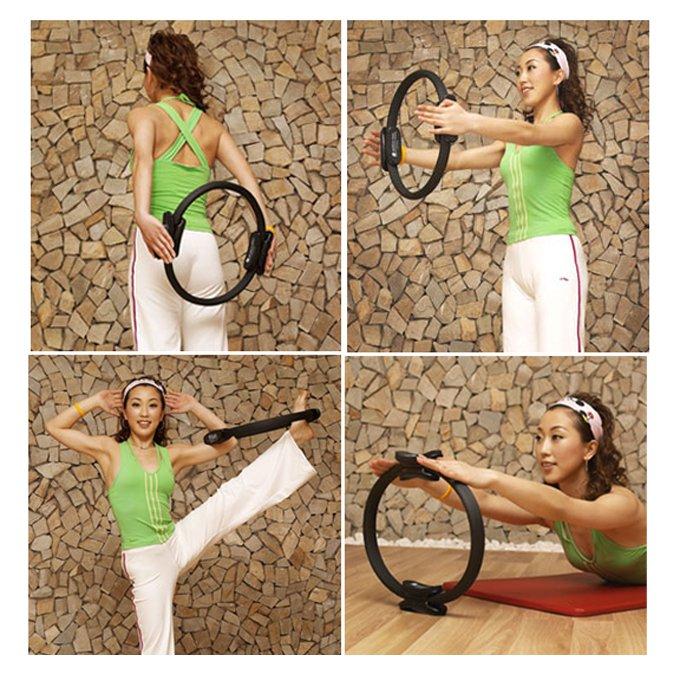 Pilate Ring PILATES MAGIC Fitness Circle Yoga New
