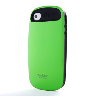 iFace 2 Generation TPU Case Cover for Apple iPhone 4 4G 4S (Green)