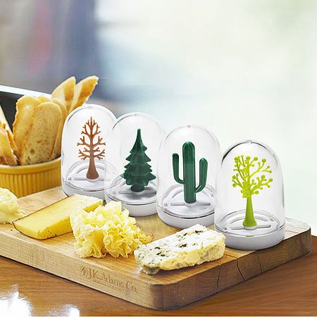 Artistic Kitchen Castor Four Season Shaker 4 Bottles Set Gift