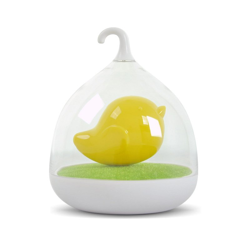 Yellow - Vogue Bird Style LED Nightlight Lamp Haning Cute Light Home Bedroom Decor Children