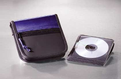 Zippered CD Case 1ct