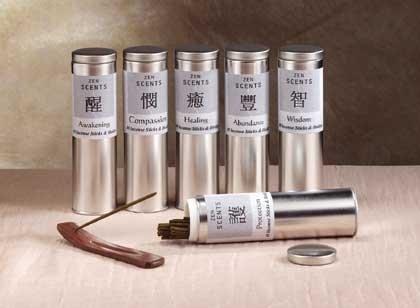 Incense Tin Cylinder 12ct