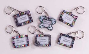 Friends Forever Frame Keychain 12ct