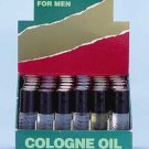 Man's Cologne Oil Roll On Display 36ct