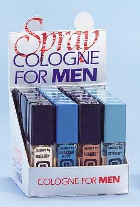 Man's Cologne On Display 24ct