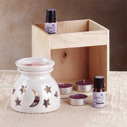 Ceramic Oil Warmer Set 1ct