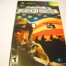 Manual ONLY ~  for Conflict Desert Storm    Xbox