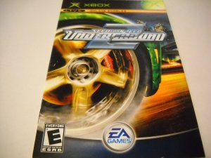 Manual ONLY ~  for Need for Speed Underground 2   Xbox