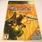 Manual ONLY ~  for Otogi Myth of Demons   Xbox