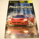 Manual ONLY ~  for Project Gotham Racing   Xbox