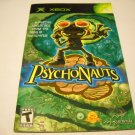 Manual ONLY ~  for Psychonauts   Xbox