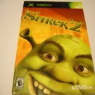 Manual ONLY ~  for Shrek 2   Xbox