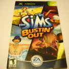 Manual ONLY ~  for The Sims Bustin Out   Xbox