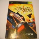 Manual ONLY ~  for Star Trek Shattered Universe   Xbox