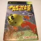 Manual ONLY ~  for Pacman World 2  in French   Xbox