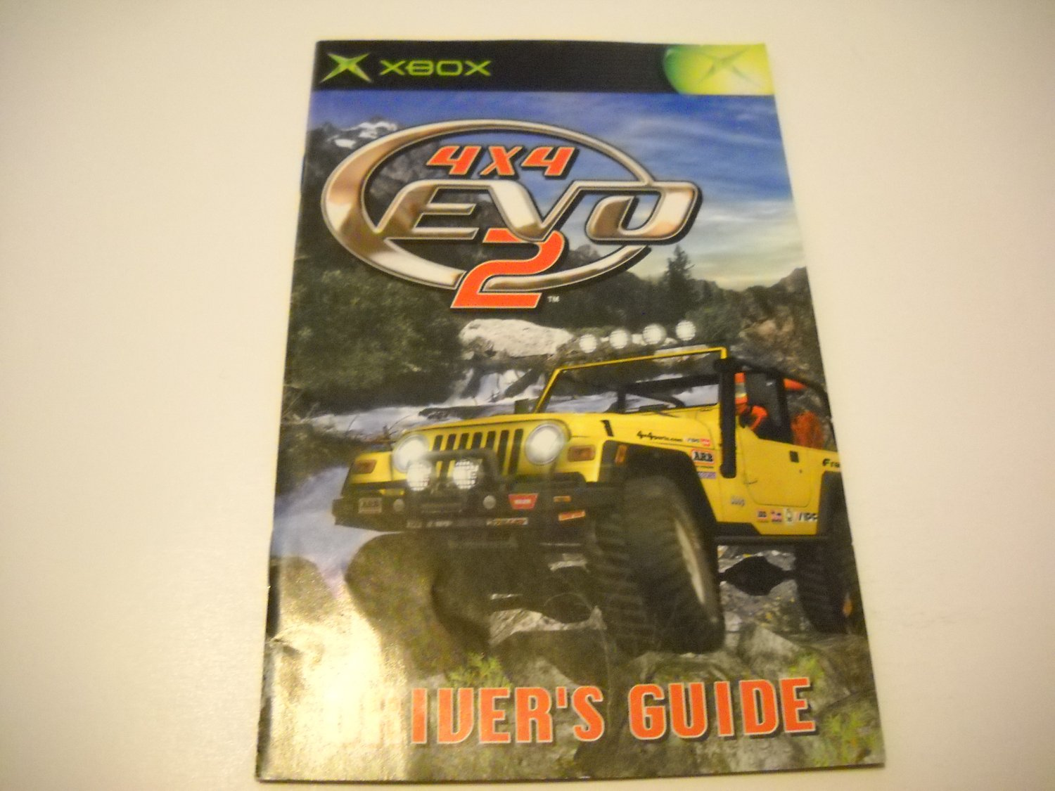 Manual ONLY ~  for 4x4 Evo 2   Xbox