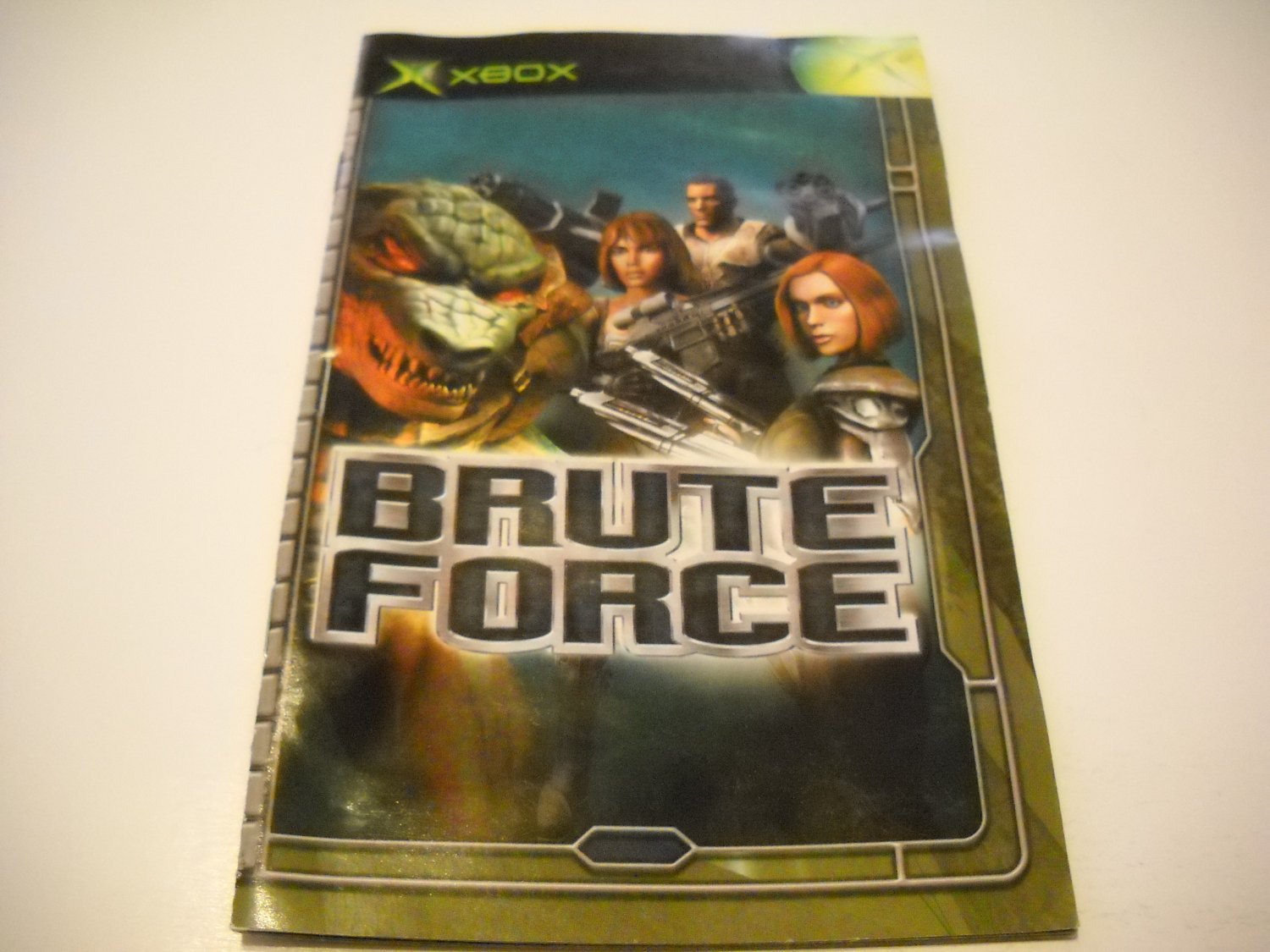 Manual ONLY ~  for Brute Force    Xbox