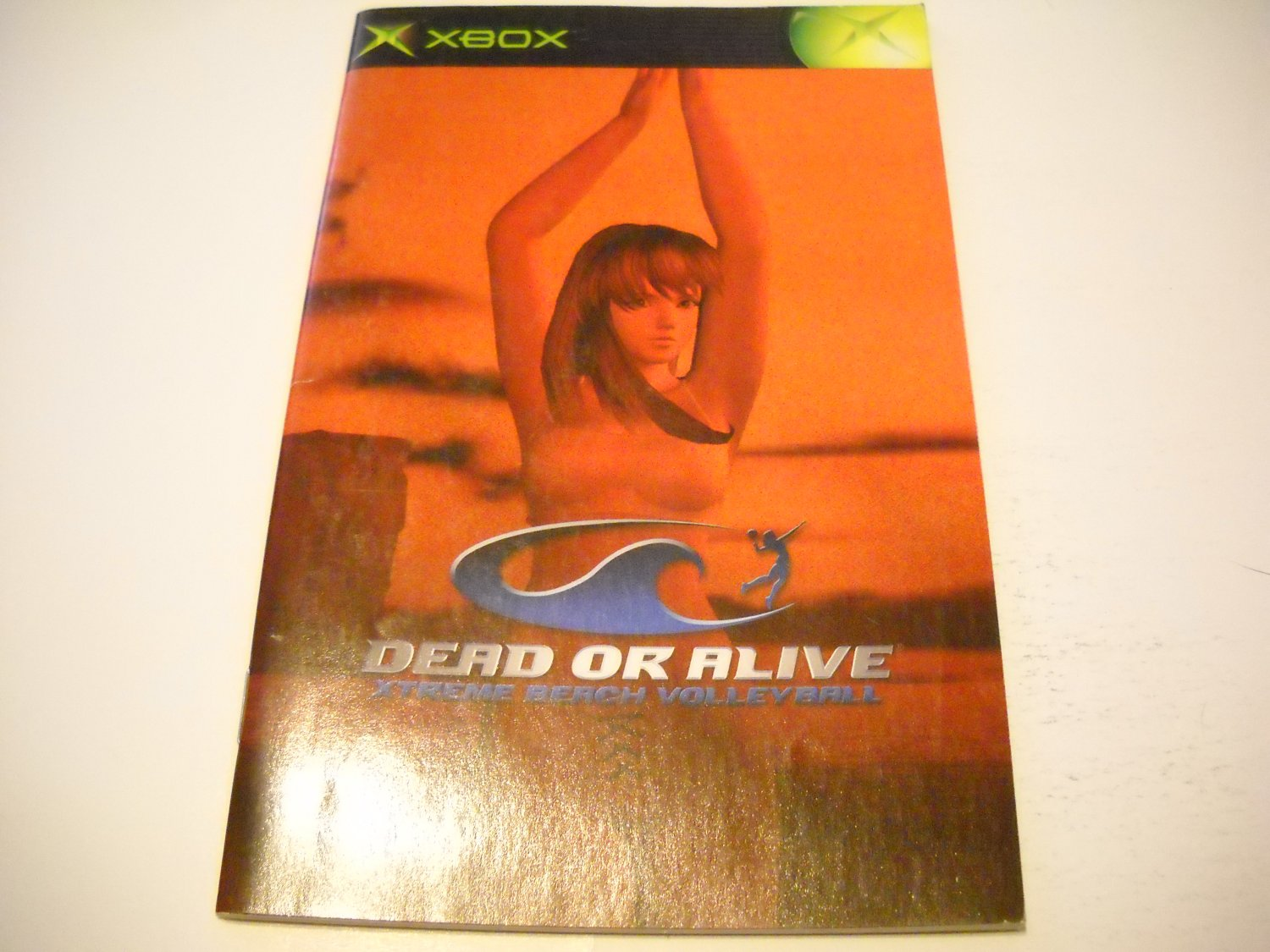 Manual ONLY ~  for Dead or Alive Extreme Beach Volleyball   Xbox