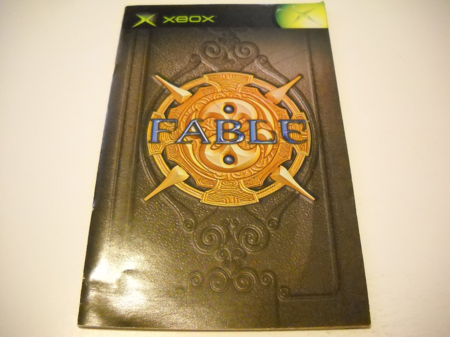 Manual ONLY ~  for Fable   Xbox