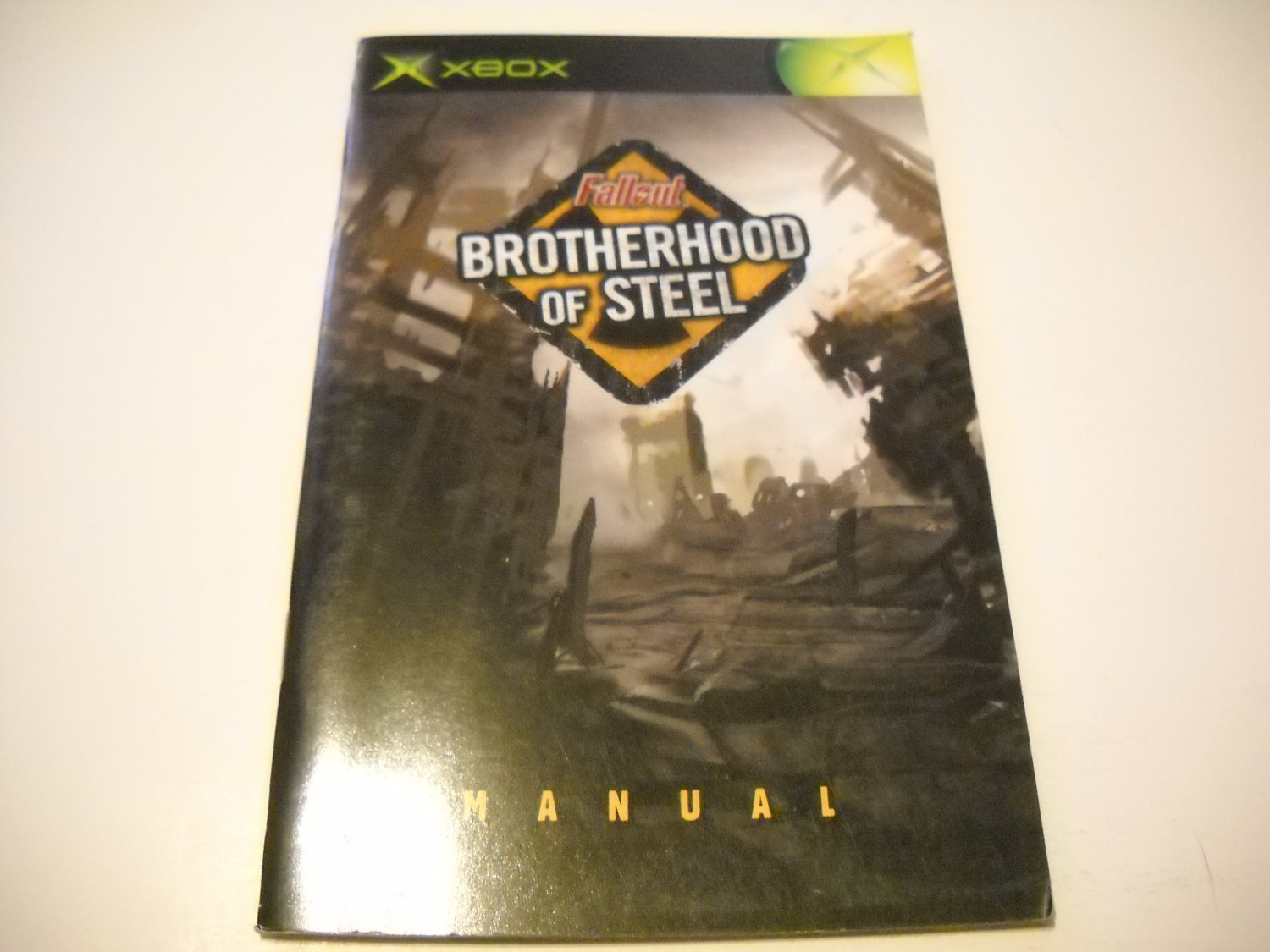 Manual ONLY ~  for Fallout Brotherhood of Steel   Xbox