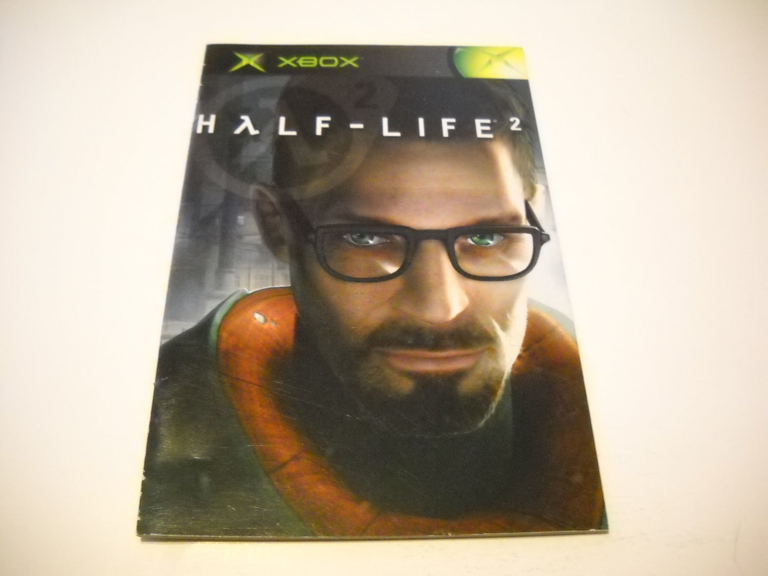 Manual ONLY ~  for Half-Life 2   Xbox