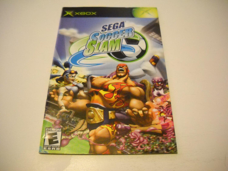 Manual ONLY ~  for Sega Soccer Slam   Xbox