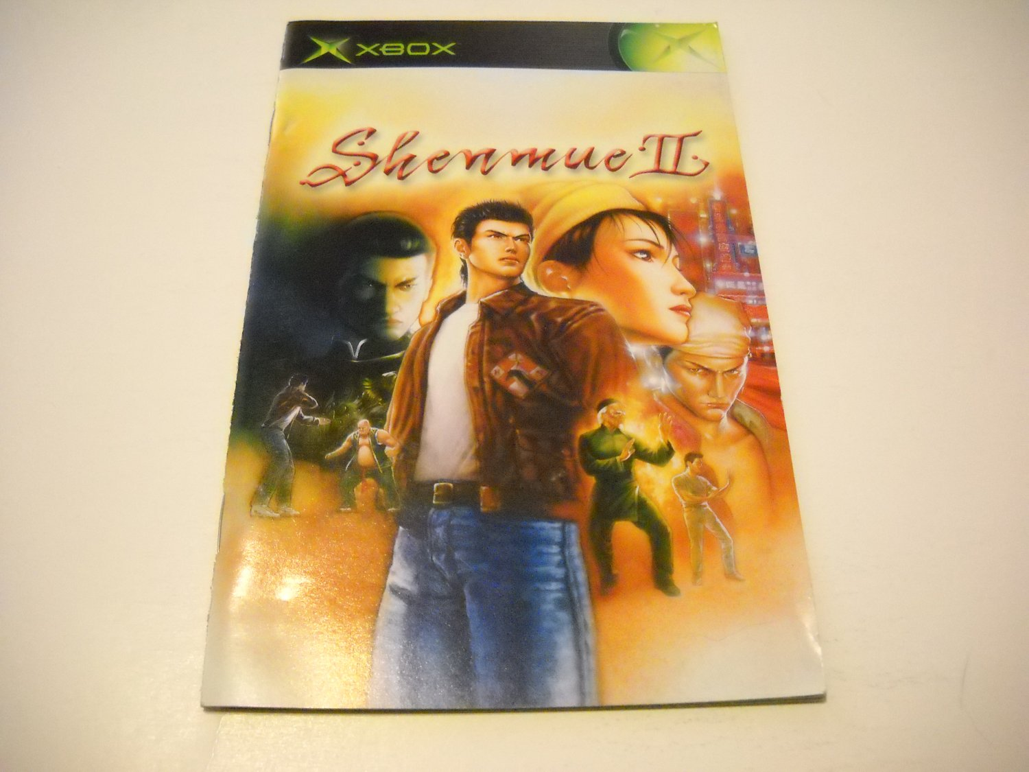 Manual ONLY ~  for Shenmue II   Xbox