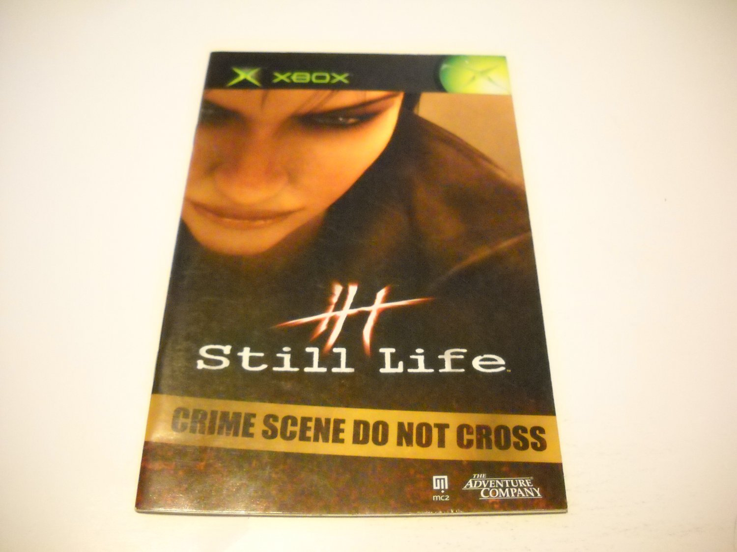 Manual ONLY ~  for Still Life   Xbox