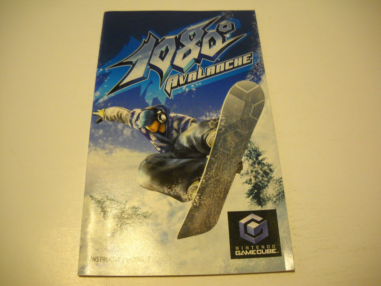 Manual ONLY ~  for 1080 Avalanche   Gamecube