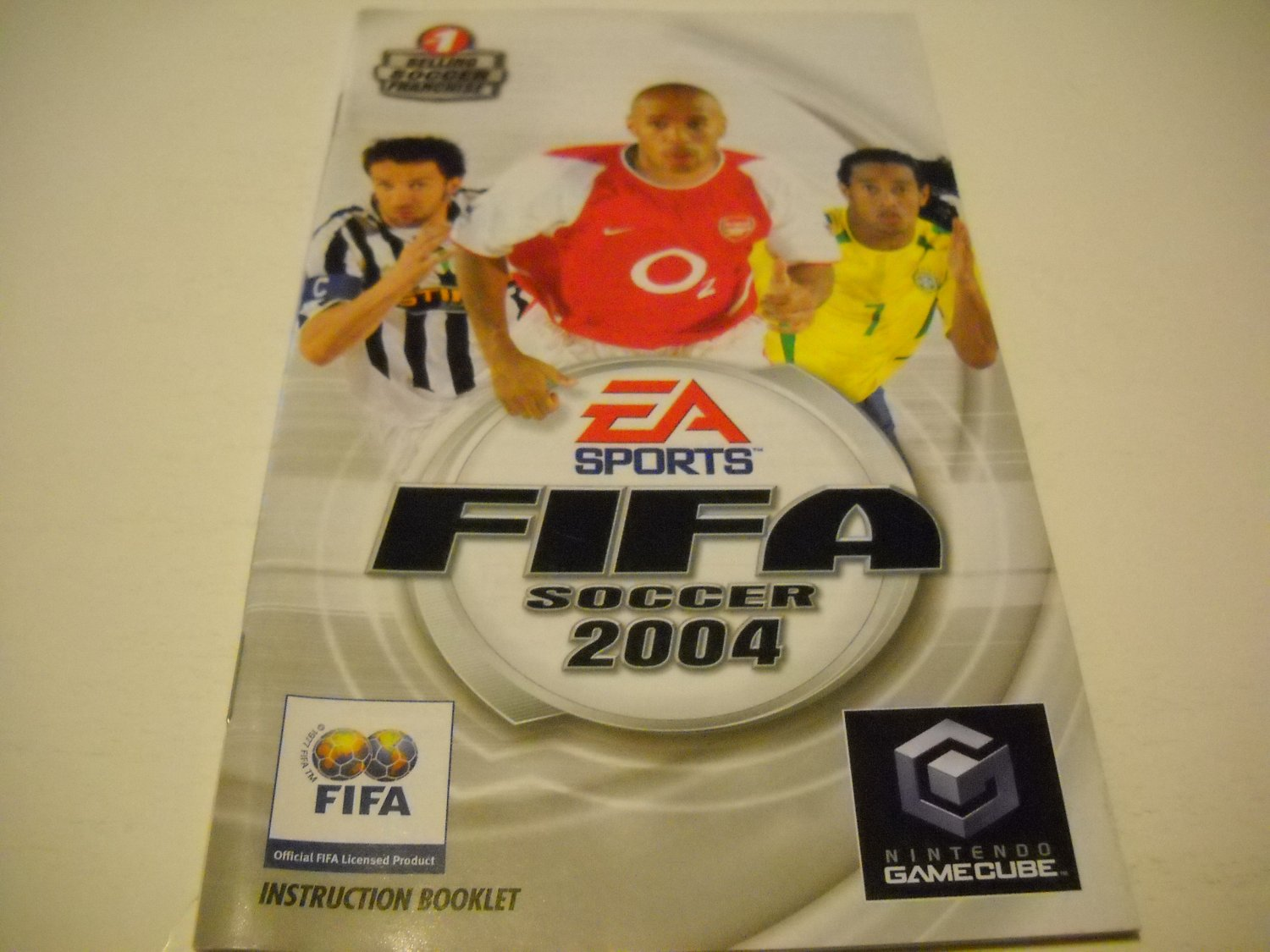 Manual ONLY ~  for Fifa Soccer 2004   Gamecube